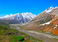 Zanskar River & Ladakh Range - J&K
