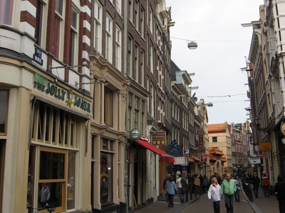 Zeedijk In Amsterdam