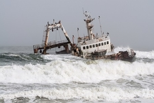 Zeila Shipwreck - Skeleton Coast Namibia