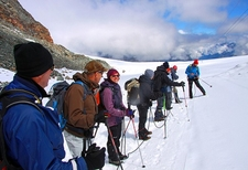 Zermatt - Descente Sur Le Theodulgletscher