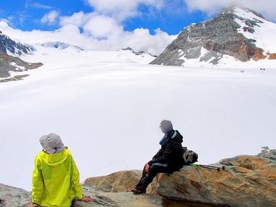 Zermatt - Vue Sur Le Theodulgletscher