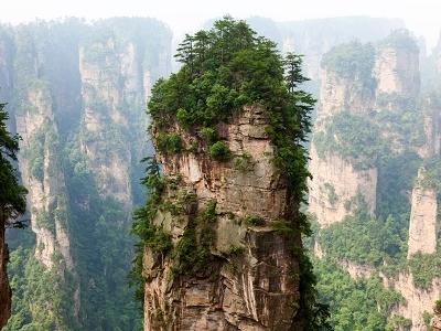 Zhangjiajie Park Views