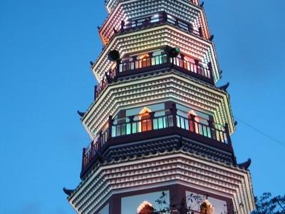 Fufeng Pagoda In Zhongshan Park.