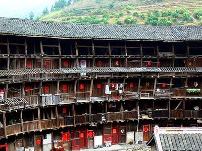 Zigzag Structure Of Yuchanglou