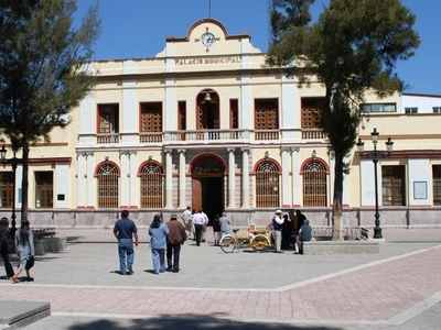 Municipal Palace In Town Center
