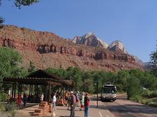 Zion Canyon Visitor Center - Utah - USA