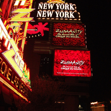 Zumanity™ by Cirque du Soleil® at New York New York Hotel and Casino Photos