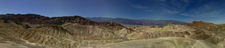 Panoramic View From Zabriskie Point, Looking Furnace Creek