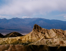 View Of Manly Beacon From Zabriskie Point