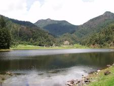 Zempoala Lake National Park Mexico