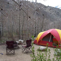 Inyo East Fork Campground