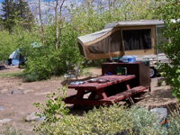 Inyo Iris Meadow Campground