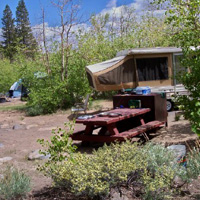 Inyo Iris Meadow Campground