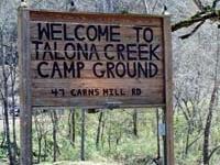 Talona Creek Campground