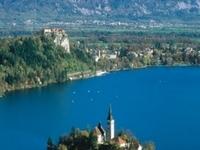 Alpine Lake Bled, Gorge Blejski Vintgar, the medieval Radovljica