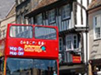 Cambridge tourist bus