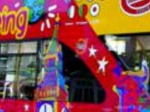 Cardiff tourist bus Photos