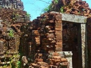 Cham culture traces - My Son Tour Photos