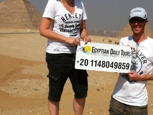Full day tour to The Great Pyramids, The Sphinx, Memphis and Sakkara. Photos