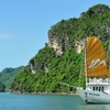 Halong Bay tour boat daily from Hanoi