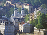 Karlovy Vary with lunch (in English)