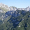 The Apuan Alps crest trail