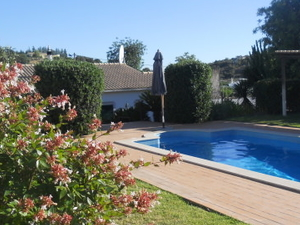 Country villa with pool and orchard