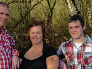 Farming family in Abbotsford BC