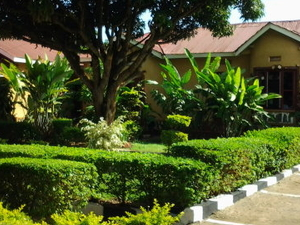 Friendly outdoor family in Entebbe