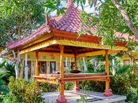 Garden house view