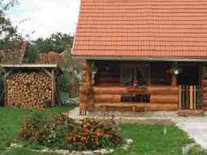 Log house in Transylvania