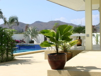 Luxury pool villa for disabled