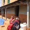 Peaceful family in Namobuddha hills