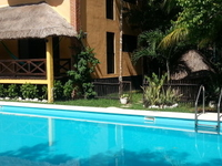 Rooms for rent on Tulum Town