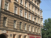 St. Petersburg city centre.