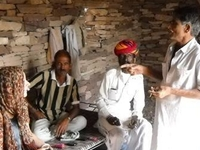Kalbeliya Gypsy Home