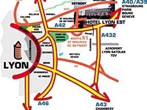 Lyon Est Logis De France