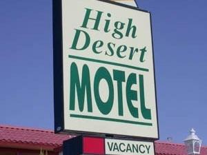 High Desert Motel Joshua Tree National Park
