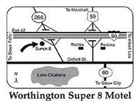 Super 8 Worthington Mn
