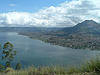 Mount And Lake Batur