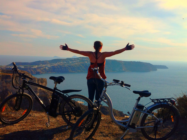 Santorini Romantic Sunset eBike Tour Photos