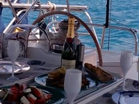 Private Dinner on Board Luxury Yacht in Athens Riviera