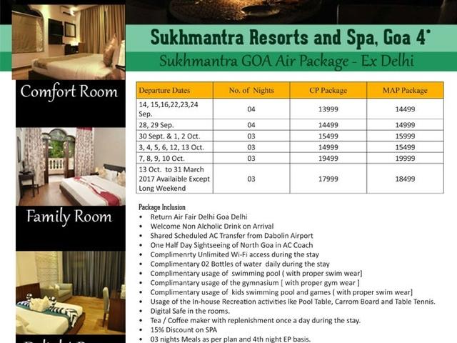 Goa Air Package-Ex Delhi Photos