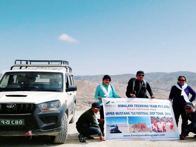 Upper Mustang Tiji Festival 4WD Jeep Tour Photos