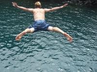 Waterfalljumpingcostarica