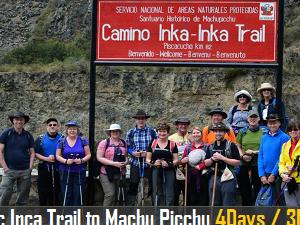 Classic Inca Trail to Machu Picchu Photos