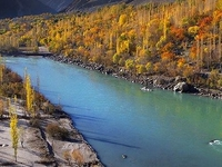 A Fascinating View Of Autumn In Gilgit Baltistan Pakistan