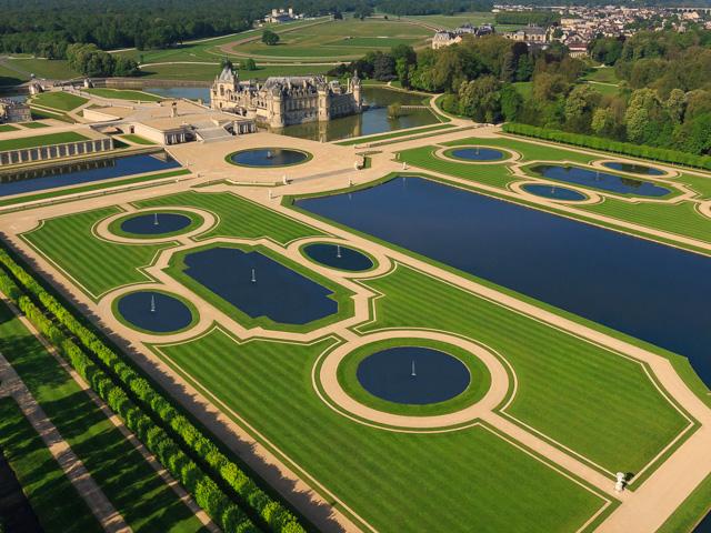 Palace of Chantilly Photos