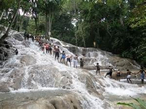 Dunn's River Falls Activity from Ocho Rios Photos