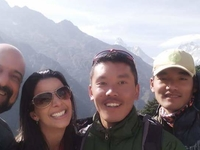 Picture With Best Sherpa Guide